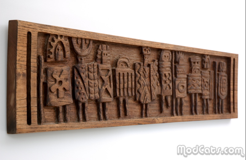 Evelyn Ackerman Wall Carving