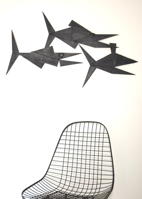 Brutal Metal Art - A Courtright - Prehistoric Fish