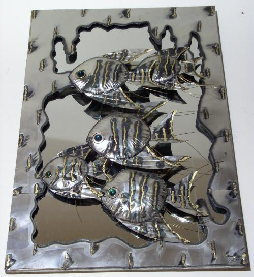 Jere type Welded Art Mirror
