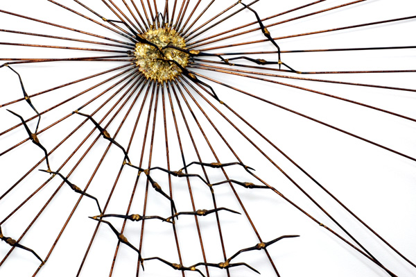 Radial Metal Wall Art
