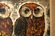 Three Wise Owls Painting