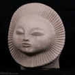 Paul Bellardo 1968 Sunburst Face Sculpture