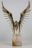 Jere Eagle Sculpture