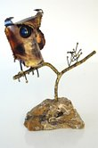 Jere Owl Sculpture - 1967