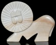Lion Soap stone or Alabaster Sculpture