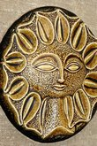 Tom Tru Framed Ceramic Sun-Face