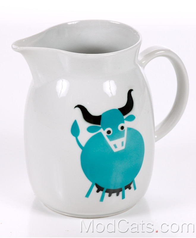 Arabia large sized cow Pitcher