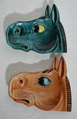 Italian Horse Head Ceramic Wall hangings