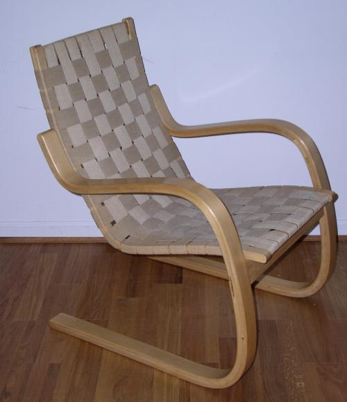 Alvar Aalto 406 Pension chair