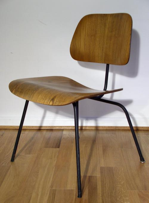 Early (1953) Eames Ash DCM Chair