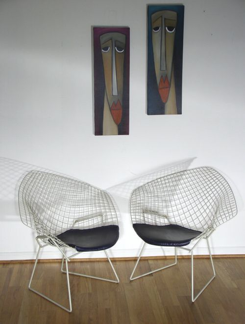 Harry Bertoia for Knoll Diamond Chairs