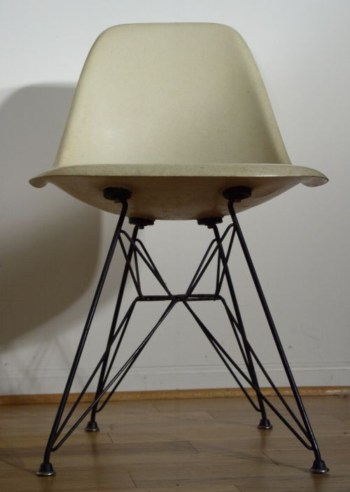 Vintage Eames DSR chair