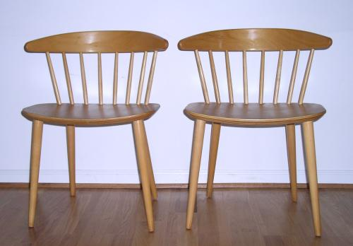 Jorgen Baekmark FDB Chairs