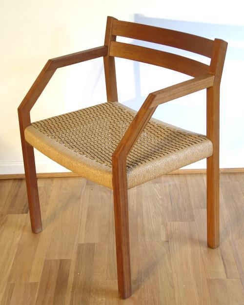 J.L. Moller 404 Chair in Teak