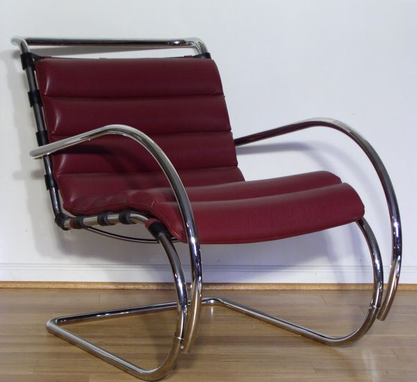 MR40 Lounge Chair - Mies van der Rohe