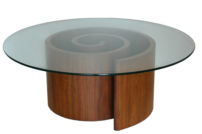 Teak Kagan Snail Table