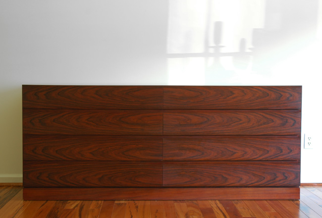 Danish Modern Rosewood Chest of Drawers