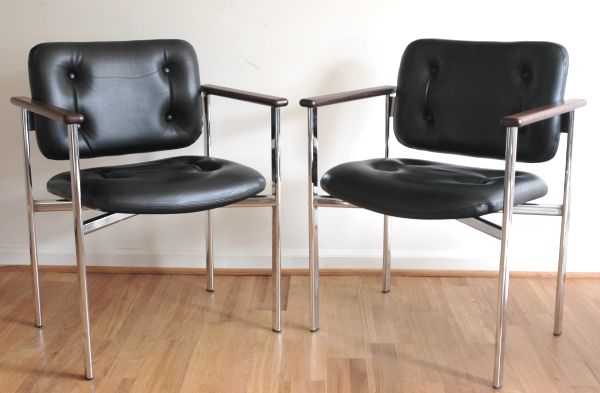Stendig Leather Chairs - Finland