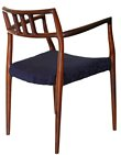 8 Niels Moller Rosewood Armchair chairs