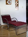MR40 Lounge Chair and Ottoman - Mies van der Rohe