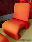 Jan Ekselius lounge chair and ottoman