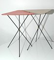 Vintage 1950s occasional tables/plant stands