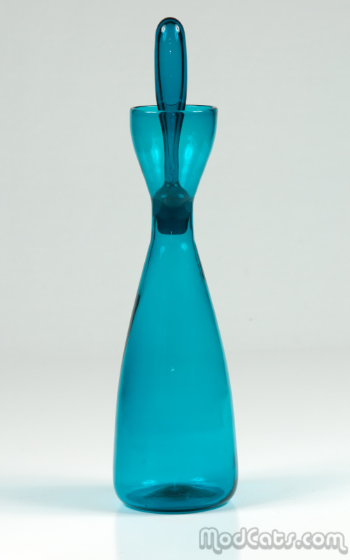 Blenko #564 - Turquoise Decanter
