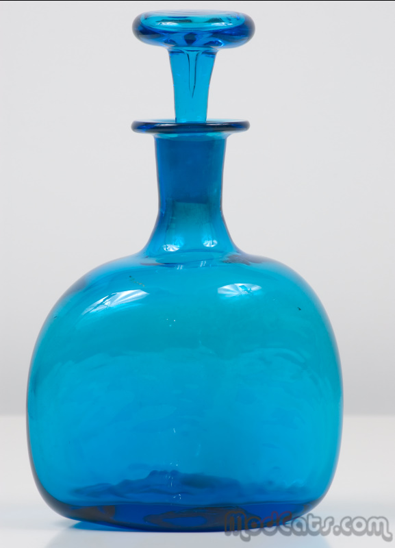 Blenko #566 Decanter Variant