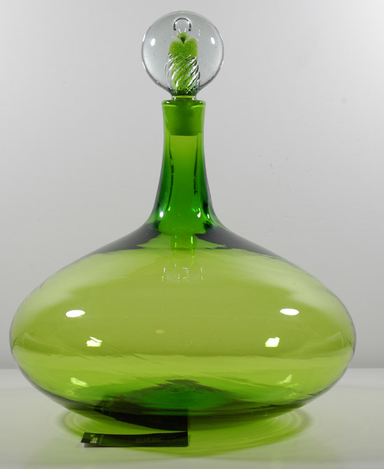 Blenko #6716 Air Twist Decanter