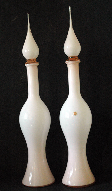 Cased Italian Decanter Bottles