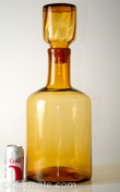 Blenko #6955 Architectural Decanter Wheat