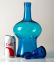 Blenko #7037 Decanter Blue