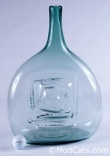 Don Shepherd for Glass America Swirl Bottle