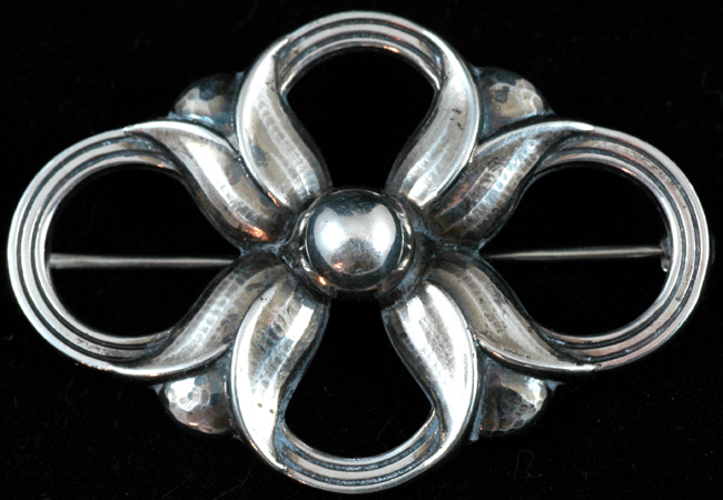 Georg Jensen Sterling Pin (Denmark)
