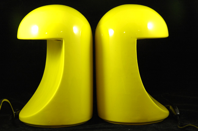 1966 Italian Longobarda lamps designed by Marcello Cuneo made by Gabbianelli