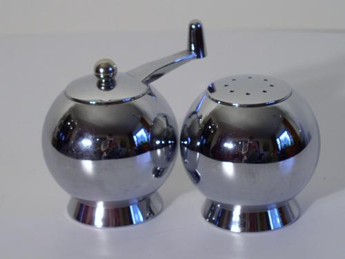 Chrome Salt and Pepper