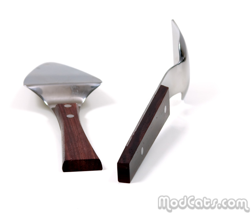 Stainless Steel and Rosewood Server Set