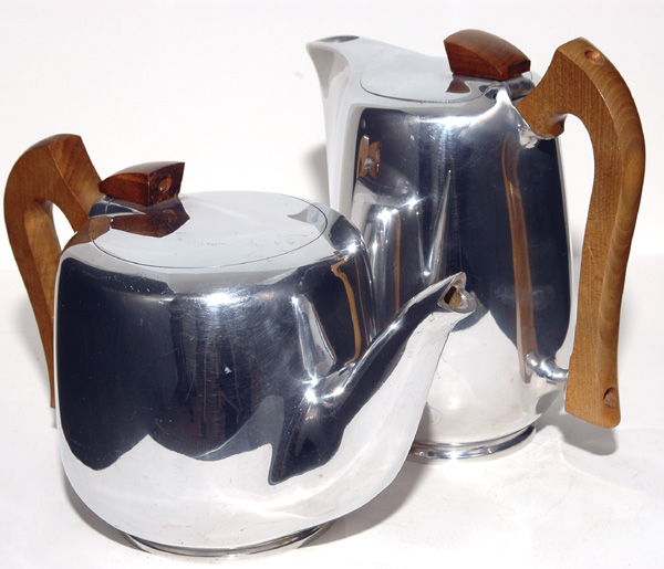 Picquot Ware Tea and Coffee Pots