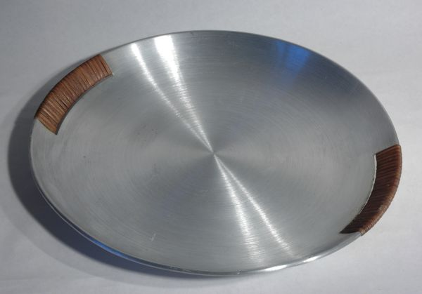 Russel Wright Spun Aluminum Serving Tray