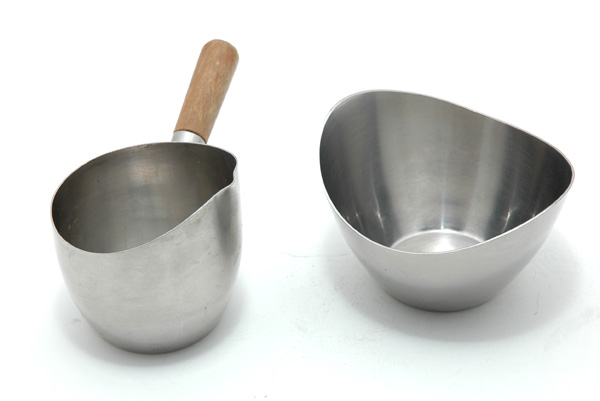Stainless Steel Sugar and Creamer