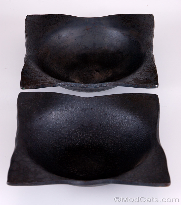 Heavy Blacksmith forged Steel Bowls