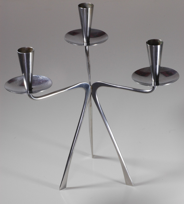 Swedish Stainless Candelabra