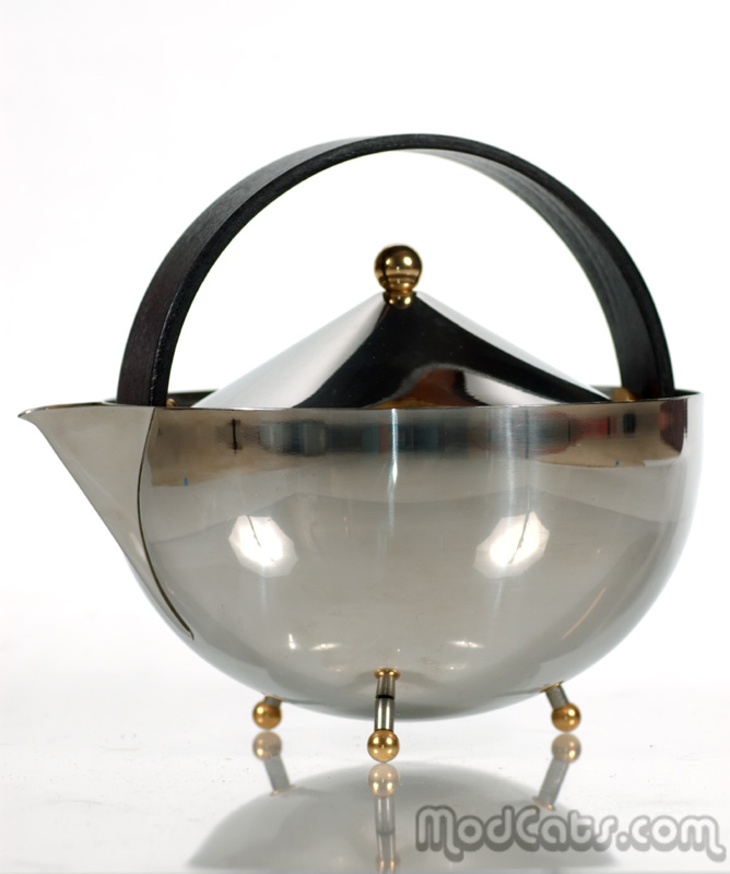 Carsten Jorgensen for Bodum Chrome Teapot