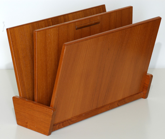 Danish made Teak Magazine Rack