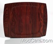 Dansk Jens Quistgaard Rare Woods Rosewood Knife edge Tray